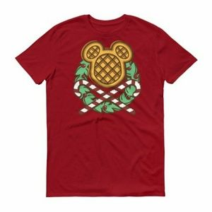 Disney Waffles and Candy Cane Holiday Tee